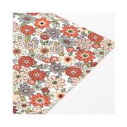 Fabric sticker 1 sheet A4 size - Tasha tudor garden