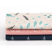 fabric pack of 3 cotton - Air in forest