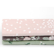 quarter fabric pack of 3 cotton - Flowers fall