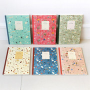 Willow story pattern free lined notebook