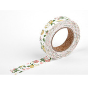 Deco fabric tape single - unaffected yellow