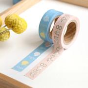 Perytale pattern washi masking tape set