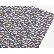Fabric sticker 1 sheet A4 size - White night
