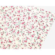 Fabric sticker 1 sheet A4 size - First love flower