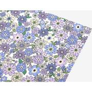 Fabric sticker 1 sheet A4 size - Tasha garden