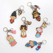 Korean traditional soft key ring