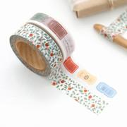 """0.59""""X11yd pattern washi masking tape set 11"""