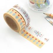 """0.59""""X11yd pattern washi masking tape set 13"""