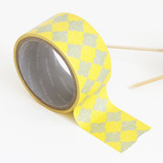 Pattern adhesive reform tape - Yellow