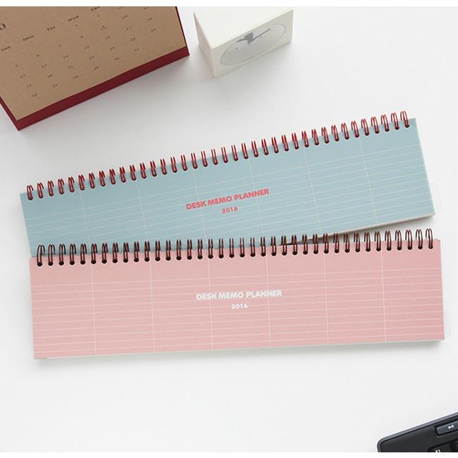 Livework Desk wirebound dated planner memo scheduler