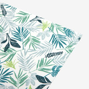 Fabric sticker 1 sheet A4 size - Tropics leaf