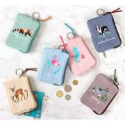 Tailorbird pastel card pouch wallet