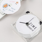 Simple and unique time memory memo pad