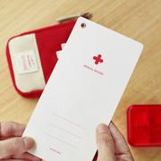 Medical record memo card