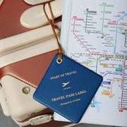 Playobje Travel pass luggage name tag