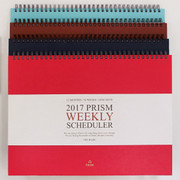 Prism wirebound weekly undated scheduler