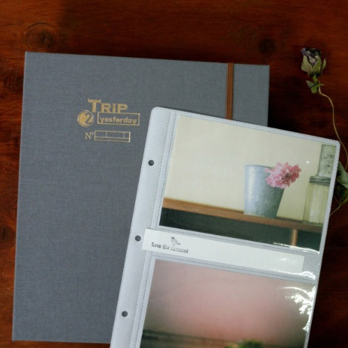 trip to yesterday 4x6 slip in pocket photo album - 4x6 Photo Albums