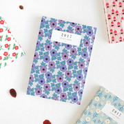 2017 Licoco flower pattern dated diary