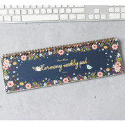 Wanna This Pour vous harmony undated weekly desk planner