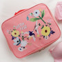Pink - Rim travel multi pouch bag packing aids