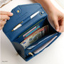 Navy blue - Start of travel clutch organizer