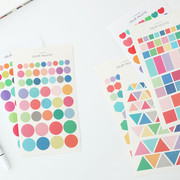 Livework Color palette deco sticker