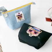 Mirrorless camera zipper pouch bag