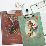 Anne of classic story A4 clipboard