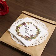 Blessom Blossom folding message card