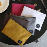 Make your second plan medium slim pocket pouch
