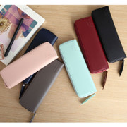 With Alice Think about w slim zipper pencil case