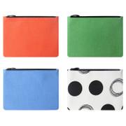 Fenice Seamless fabric zipper multi pouch