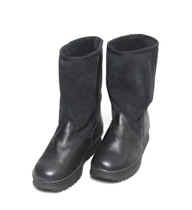 Ridge Leather Sheepskin Boot