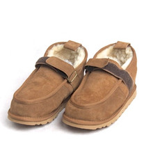 Skinnys Velcro Walking Shoe Chestnut
