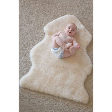 Baby Rug Sheepskin Safe Natural And Washable Skinnys