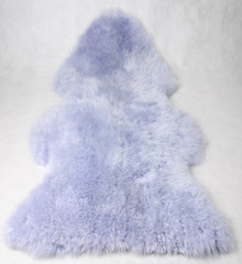 Long Wool Sheepskin Rug Coloured