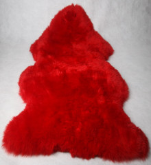 Long Wool Sheepskin Coloured