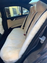We also manufacture rear seat covers in luxurious Australian sheepskin - POA - come in for a quote or call on 07 3883 2040