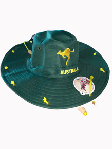 Australiana Cork Hat- Green