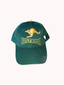 Australiana Cap- Green n Gold