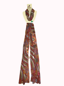 Aboriginal Scarf- Women's corroboree