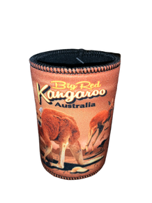 Big Red Kangaroo- Stubbie Holder