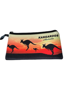 Kangaroo Sunset Pencil Case