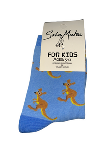 Kids Koala Blue Socks