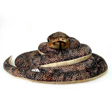 Brown Snake with Baby Snake