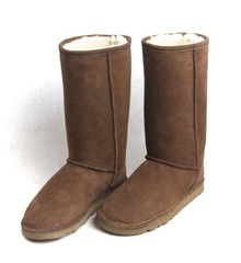 Skinnys Classic Tall Ugg Boot Chocolate