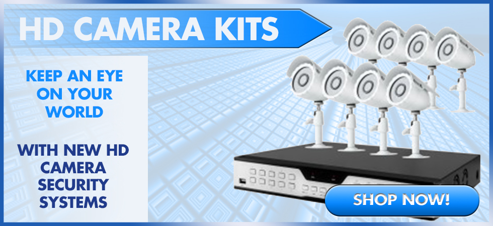 HD - 720P High Resolution Security Cameras Available