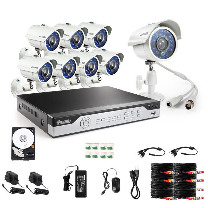 Zmodo camera system