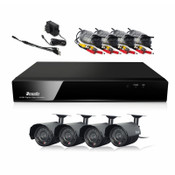 Zmodo Direct IP Surveillance HD NVR System 720p 1TB Hard Drive