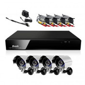 weatherproof surveillance camera system